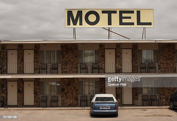 A roadside motel June 26 2007 in Pine Bluffs Wyoming When rural America was chronicled 50 years ago by Jack Kerouac in his autobiographical novel 'On...