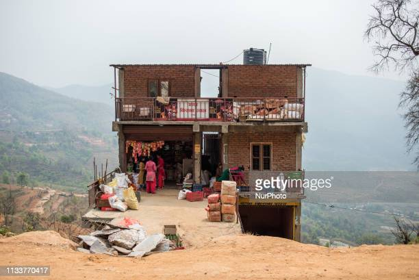 Roadside store in Bandipur Nepal on March 30 2019