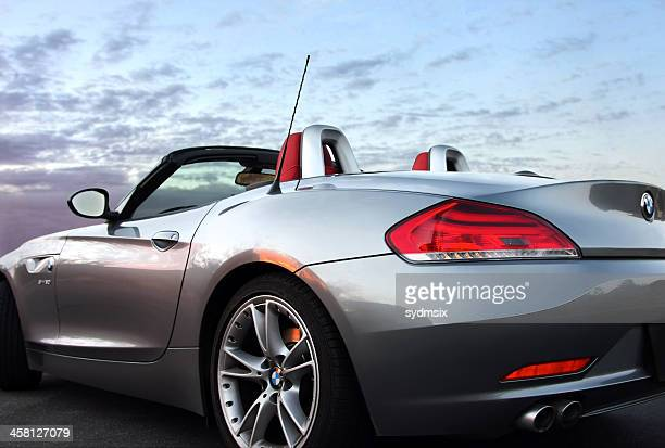 bmw z4 roadster - bmw stock pictures, royalty-free photos & images