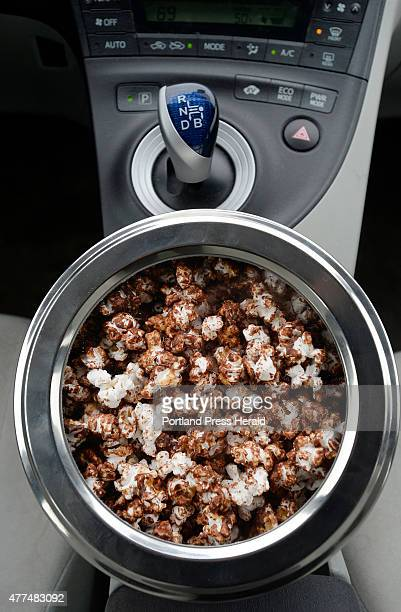 Roadtrip Salted Dark Chocolate and Peanut Butter Popcorn in a Prius Tuesday June 2 2015