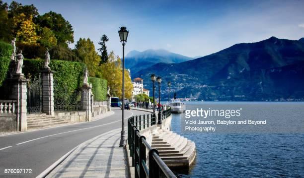 Roadway to Tremezzo on Lake Como, Italy