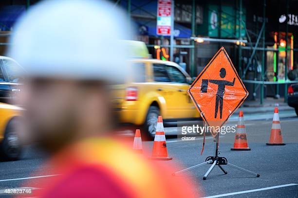 Roadwork on the NYC road