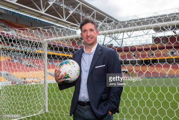 Roar coach Robbie Fowler poses during an International Champions Cup media opportunity ahead of matches between Crystal Palace FC West Ham United FC...