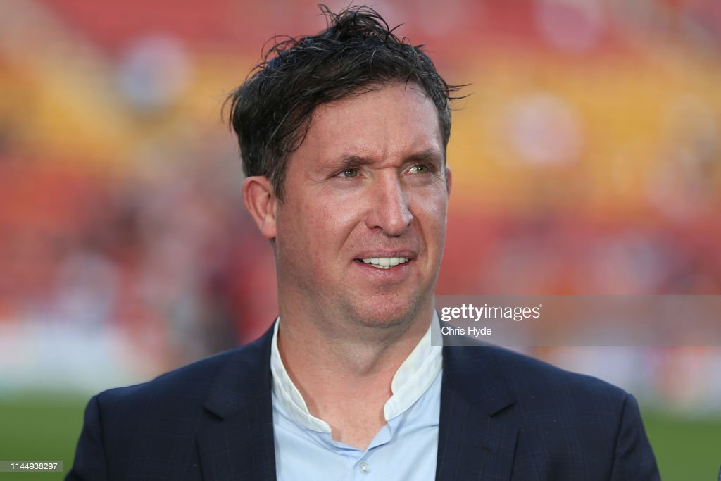 A-League Rd 27 - Brisbane v Adelaide : News Photo