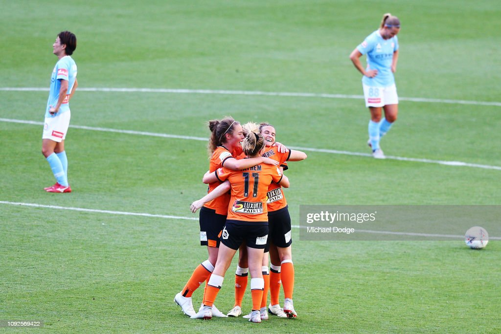 W-League Rd 11 - Melbourne v Brisbane : News Photo