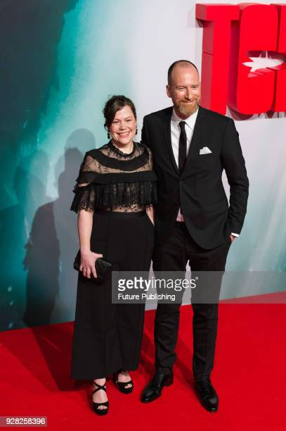Roar Uthaug and Ingird Uthaug arrive for the European film premiere of 'Tomb Raider' at Vue West End cinema in London's Leicester Square March 6 2018...