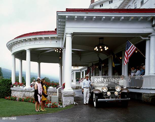 Roaring 20s weekend at the Mount Washington Hotel and Resort Bretton Woods New Hampshire