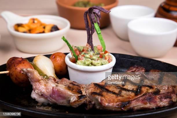 roast beef, mexican food - carne assada imagens e fotografias de stock