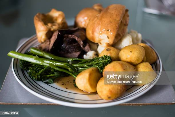 Roast Dinner and Yorkshire Puddings
