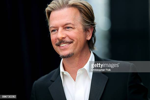 Roast Master David Spade attends The Comedy Central Roast of Rob Lowe at Sony Studios on August 27 2016 in Los Angeles California