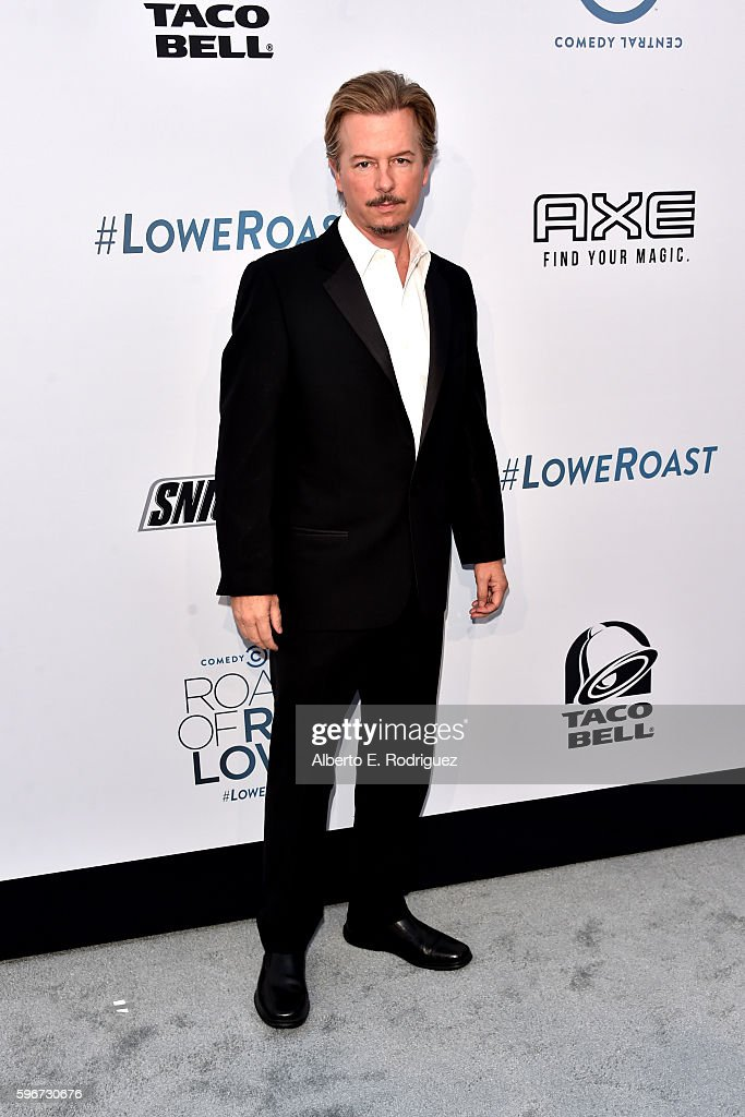 Roast Master David Spade attends The Comedy Central Roast of Rob Lowe at Sony Studios on August 27, 2016 in Los Angeles, California.