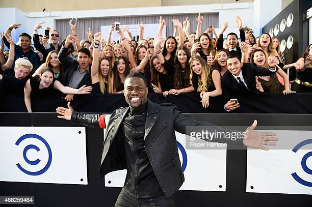 Roast Master Kevin Hart attends The Comedy Central Roast of Justin Bieber at Sony Pictures Studios on March 14, 2015 in Los Angeles, California.