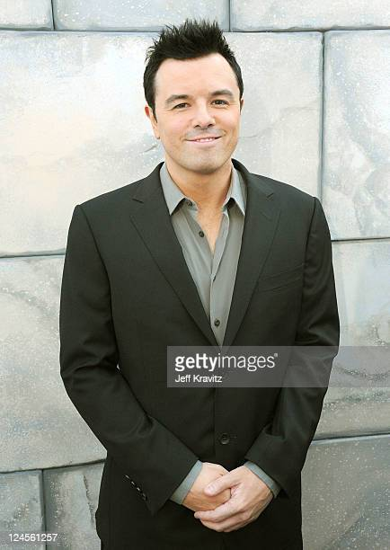 Roast Master Seth MacFarlane arrives at Comedy Central's Roast of Charlie Sheen held at Sony Studios on September 10 2011 in Los Angeles California