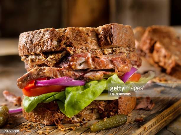 Roast Pork Sandwich