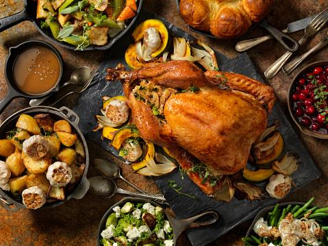 Roast Turkey Dinner 1030383984