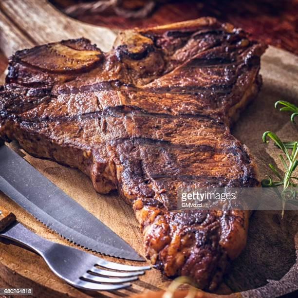 BBQ grillés t-bone Steak
