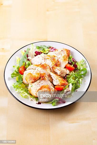 Escalope de poulet rôtie