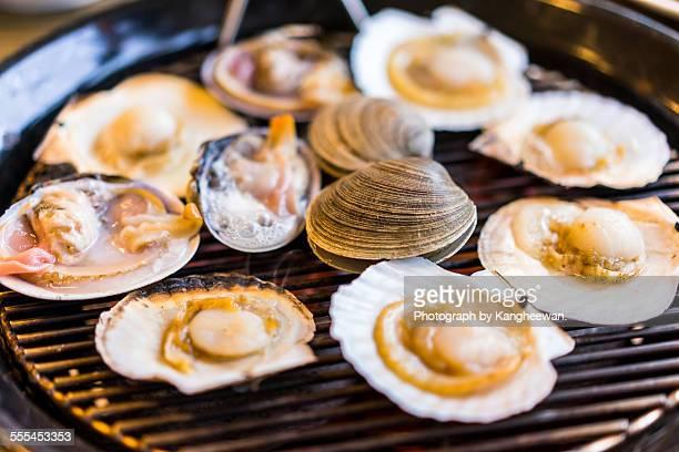 Roasted clam