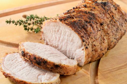 Roasted Pork Tenderloin 184997093