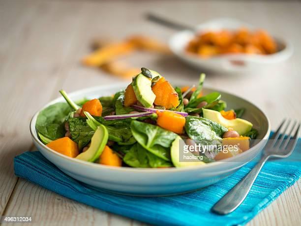 Gerösteter Kürbis-Salat