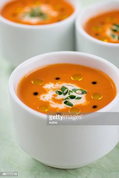 ローストレッドペッパー&トマトスープ