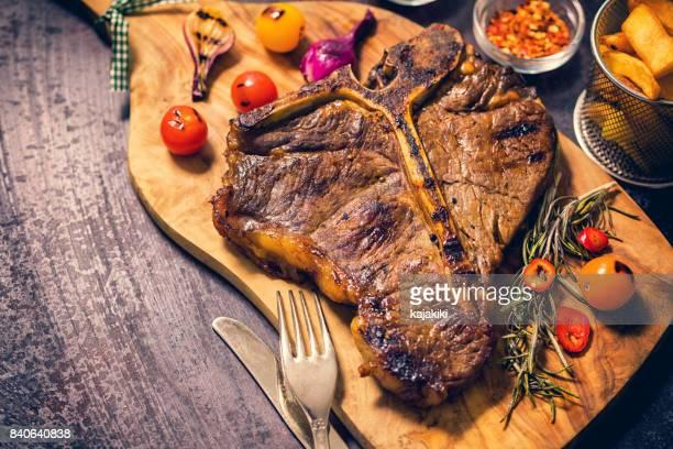 Roasted T-Bone Steak