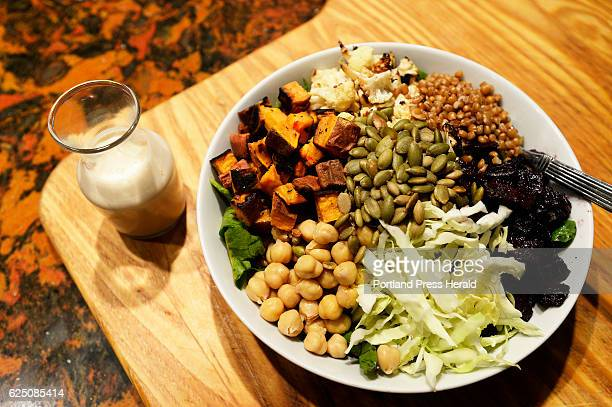 Roasted Winter Buddha Bowl Green Plate Special Tuesday November 15 2016