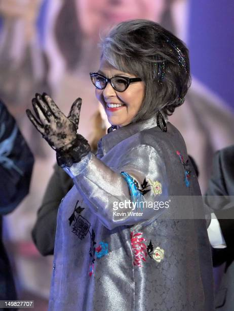 Roastee Roseanne Barr onstage during the Comedy Central Roast of Roseanne Barr at Hollywood Palladium on August 4 2012 in Hollywood California