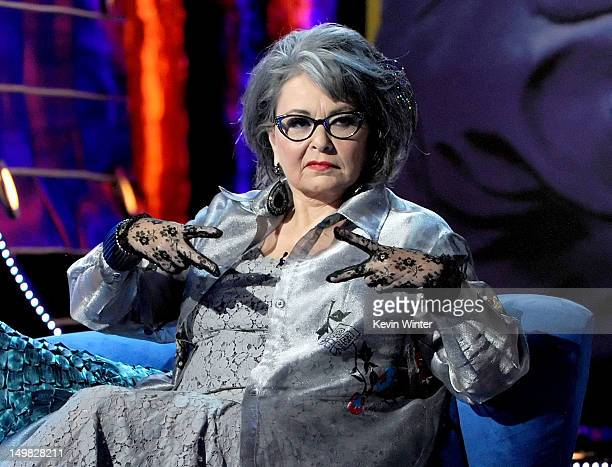Roastee Roseanne Barr onstage during the Comedy Central Roast of Roseanne Barr at Hollywood Palladium on August 4, 2012 in Hollywood, California.