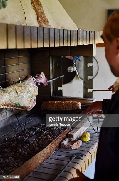 Roasting the Lamb