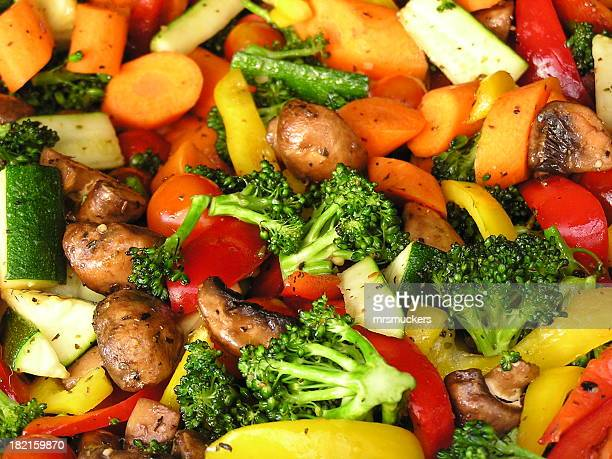 Roasting Vegetables on the Grill
