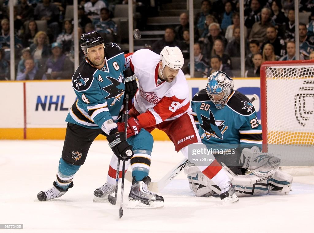 Detroit Red Wings v San Jose Sharks - Game One