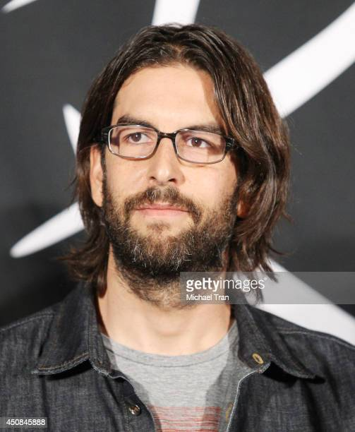 Rob Bourdon of Linkin Park attends the hand induction ceremony into Guitar Center's RockWalk on June 18 2014 in Hollywood California