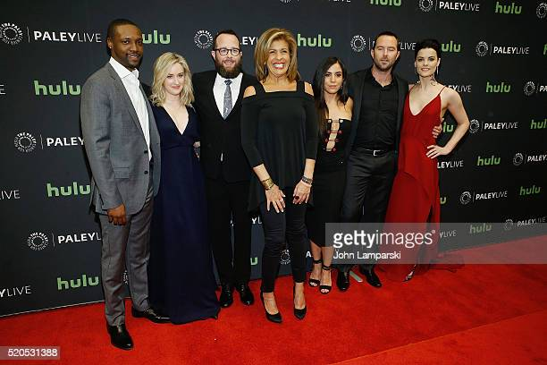 Rob Brown Ashley Johnson Martin Gero Hoda Kotb Audrey Esparza Sullivan Stapleton and Jaimie Alexander attend PaleyLive NY an evening with the cast...