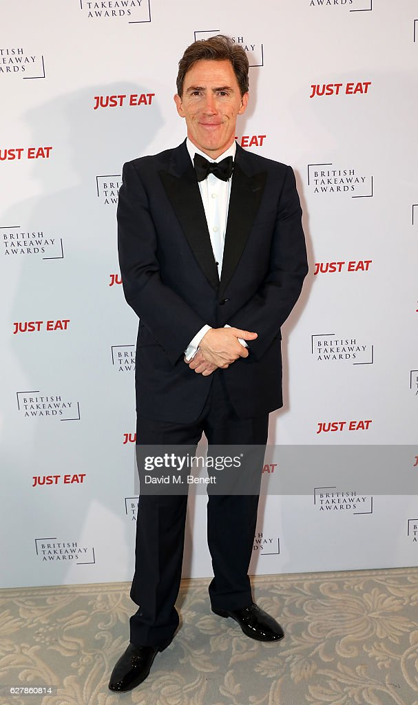 Rob Brydon attends the annual British Takeaway Awards, in association with Just Eat at the Savoy Hotel, in London. The Annual awards are held to showcase and celebrate the diverse world of takeway food nationwide on December 5, 2016 in London, England.