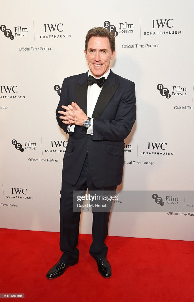 Rob Brydon attends the IWC Schaffhausen Dinner in Honour of the BFI at Rosewood London on October 4, 2016 in London, England.