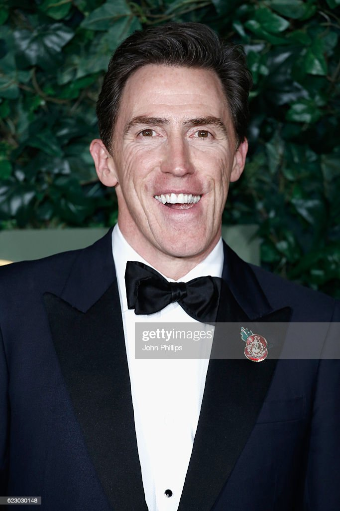 Rob Brydon attends The London Evening Standard Theatre Awards at The Old Vic Theatre on November 13, 2016 in London, England.