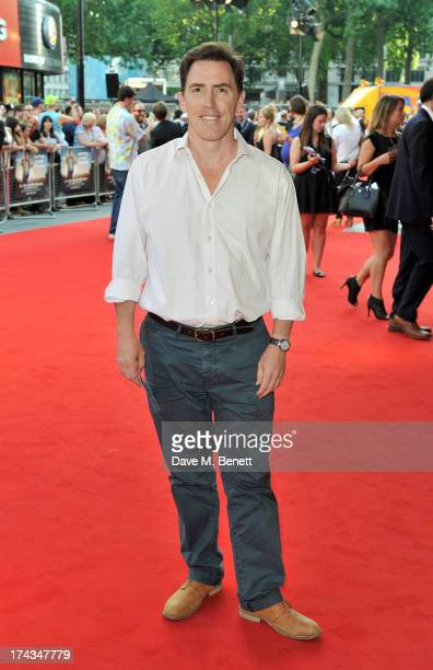 Rob Brydon attends the London Premiere of 'Alan Partidge: Alpha Papa' at Vue Leicester Square on July 24, 2013 in London, England.