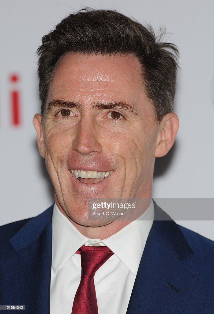 Rob Brydon attends the Nordoff Robbins 02 Silver Clef awards at London Hilton on July 4, 2014 in London, England.