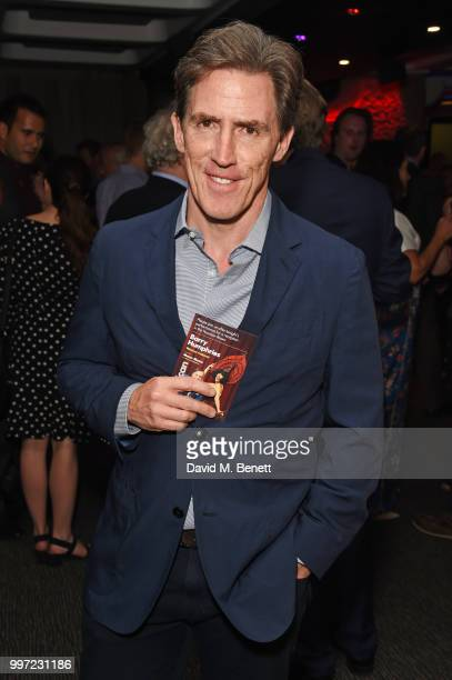 Rob Brydon attends the press night performance of 'Barry Humphries' Weimar Cabaret' at The Barbican Centre on July 12 2018 in London England