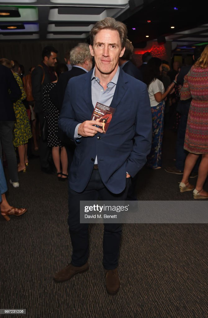 Rob Brydon attends the press night performance of 'Barry Humphries' Weimar Cabaret' at The Barbican Centre on July 12, 2018 in London, England.