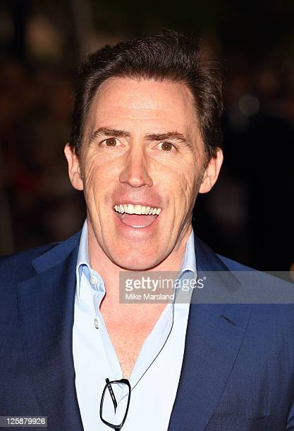 Rob Brydon attends the screening of 'The Promise The Making Of Darkness On The Edge Of Town' at BFI Southbank on October 29 2010 in London England