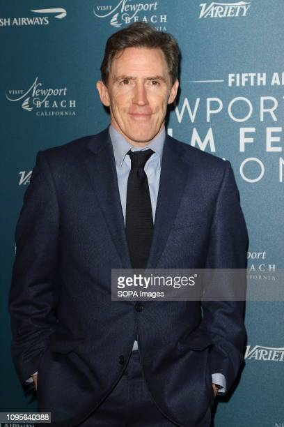 Rob Brydon seen at the Newport Beach Film Festival 5th Annual UK Honors at London's Langham Hotel