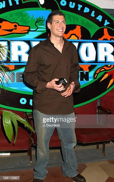 Rob Cesternino during Jenna Morasca Is The MillionDollar Winner of Survivor The Amazon at The Ed Sullivan Theater in New York City New York United...
