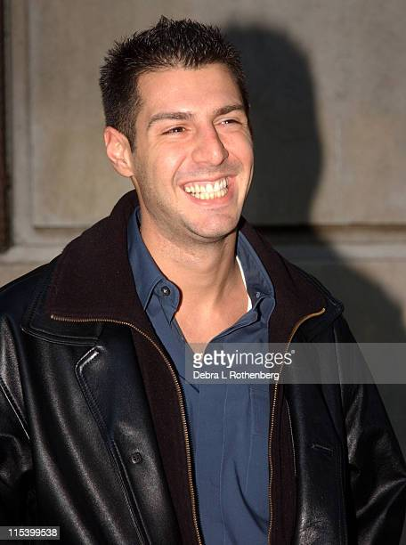 Rob Cesternino during Norah Jones Jeff Goldblum and Rob Cesternino from Survivor All Stars Stop by The Late Show with David Letterman at Ed Sullivan...