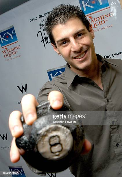 Rob Cesternino from 'Survivor' with his 8ball that survived the fire