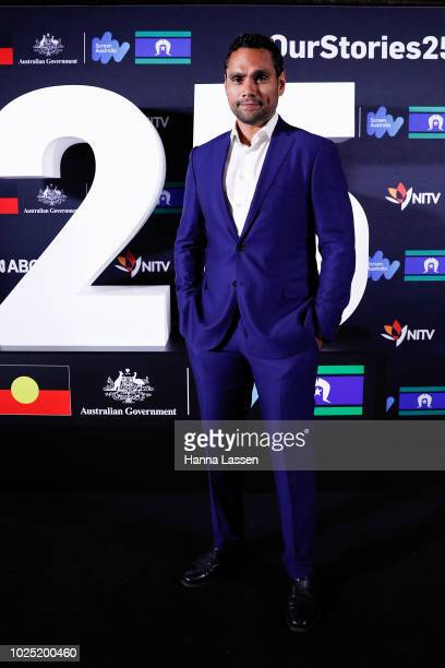 Rob Collins attends the 25th Anniversary of Screen Australia's Indigenous Department at Carriageworks on August 30 2018 in Sydney Australia