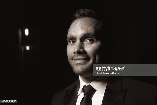 Rob Collins poses backstage during the 7th AACTA Awards Presented by Foxtel at The Star on December 6 2017 in Sydney Australia