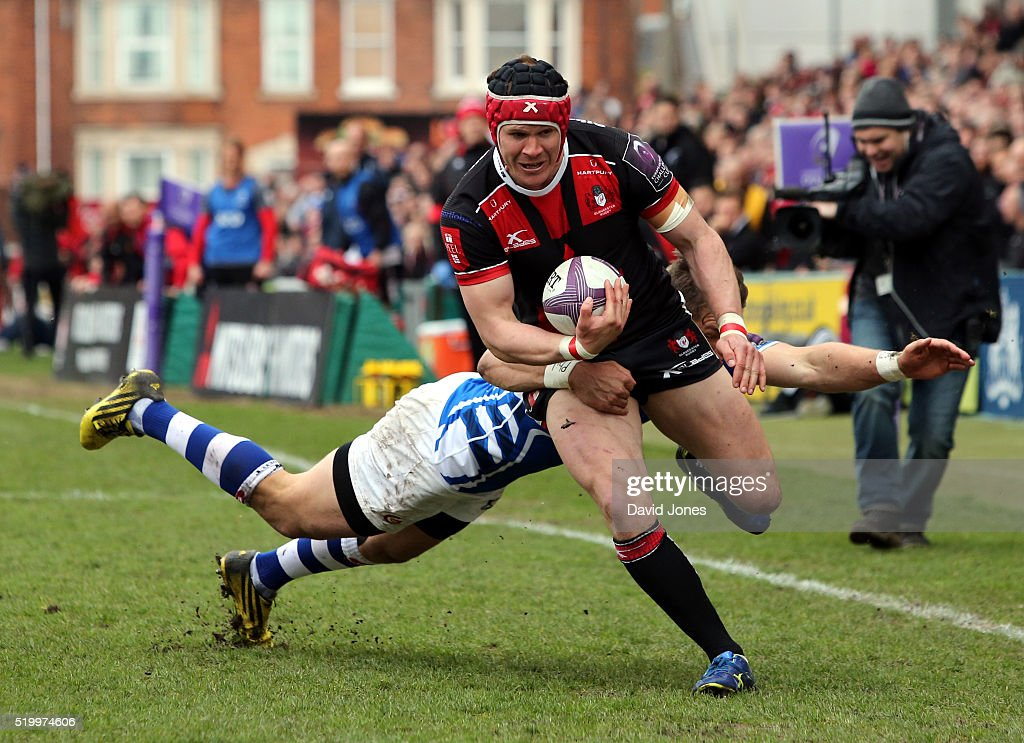 Gloucester Rugby v Newport Gwent Dragons -European Rugby Challenge Cup Quarter final : News Photo