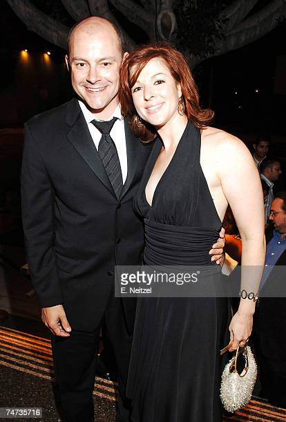Rob Corddry and Sandra Corddry in Los Angeles California